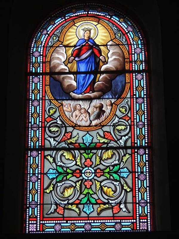 vitraux après travaux de restauration de l'église de Graulhet