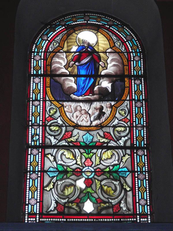 vitraux avant travaux de restauration de l'église de Graulhet